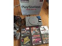 Boxed PlayStation 1 console Ps1 bundle with games