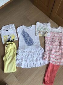 Girls bundle summer clothes