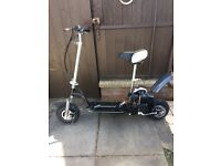 Hawkmoto petrol scooter 50cc hardly used