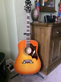 Epiphone Pro Guitar. As new, Perfect condition.