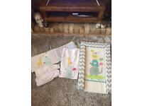 Nursery Crib bedding bundle