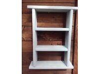 Shabby Chic Kitchen Bathroom Storage / shelf unit ,in Beach Hut Blue