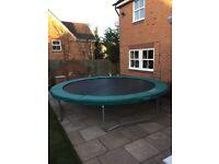 TP 641 King trampoline 14 ft