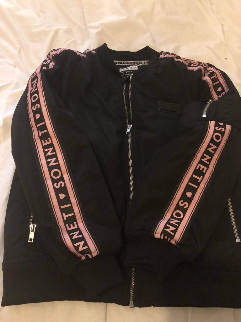 8b6e3c829353 Girls Sonetti bomber jacket Age 12-13 years old