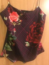 Brand new ted baker floral tops with tags
