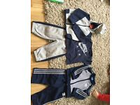 Adidas and Nike tracksuits 6-9 m