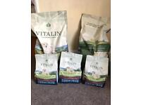 Vitalin complete natural puppy food
