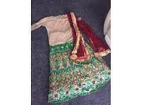 India/Pakistan top&skirt