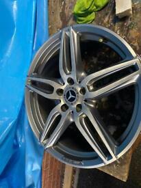 Genuine Mercedes 19 inch alloys