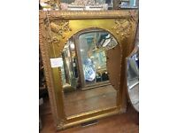 Beautiful, large gold mirror from Renaissance Framing - GREAT PRICE