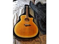 Dean Acoustic Guitar With Hard Case