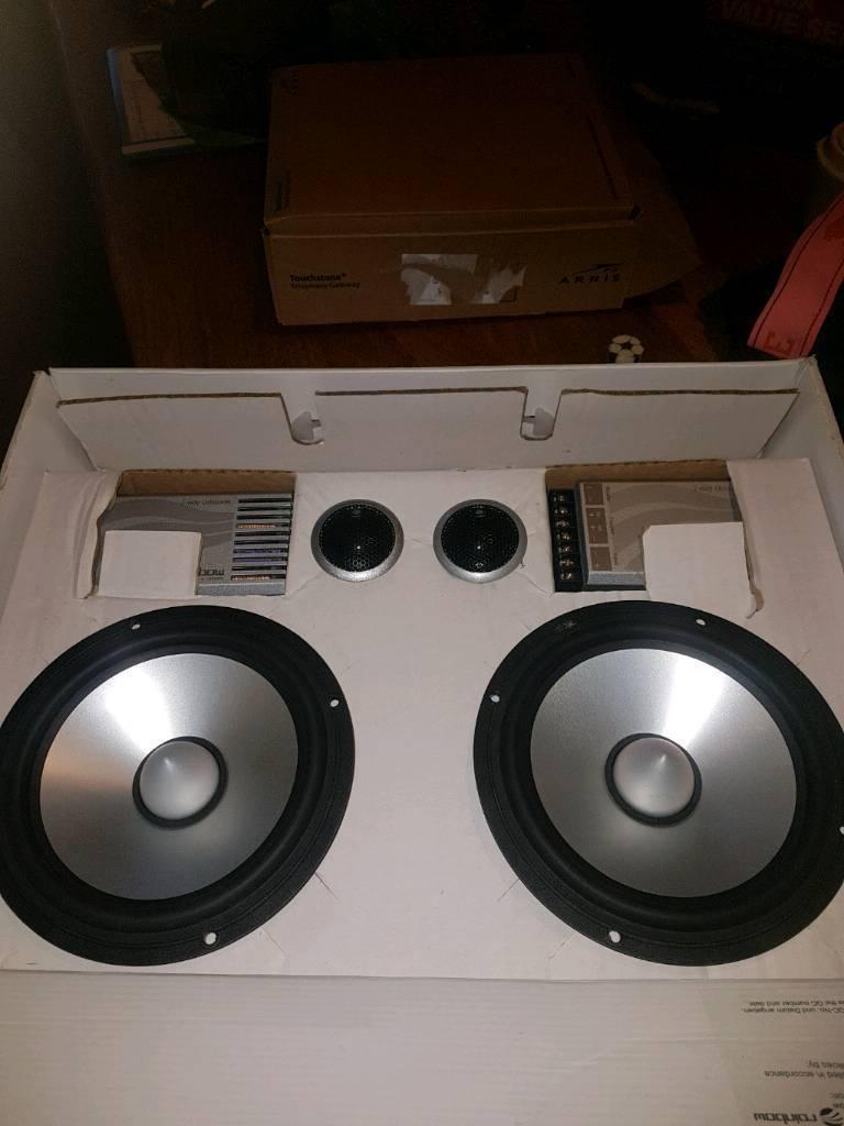 Rainbow vanadium car speakers