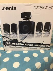 5.1 AMPLIFIED CHANNEL HOME THEATRE