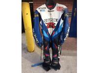 Scott racing 1 piece leather suit Gsxr