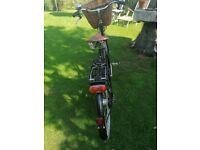 "Ladies'Pashley Black Sovereign Classic 22"" bicycle"