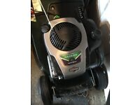 HAYTER HARRIER 41 AUTODRIVE VARIABLE SPEED WITH ROLLER USED ONCE AND STORED