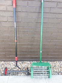 Garden Aerator and Soil Tiller