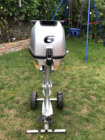 2017 Honda 6hp BF6A Short Leg Outboard and Accessories