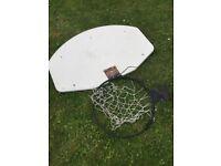 Basketball Hoop & Backboard