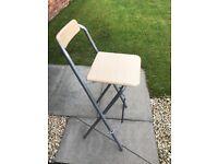 Single folding stool