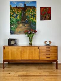 Very Rare Mid-century Teak Sideboard / Credenza by Remploy FREE LOCAL DELIVERY