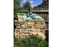 250 spare bricks left over from house extension to be collected