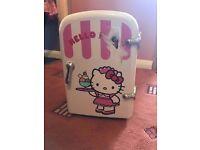 Girls Hello Kitty mini fridge