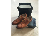 Mens brown shoes size 11 - worn once