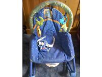 Baby rocker with spare cover