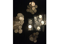Limited edition 90% silver 1964 Kennedy silver half dollars and 90% silver Franklin silver halves