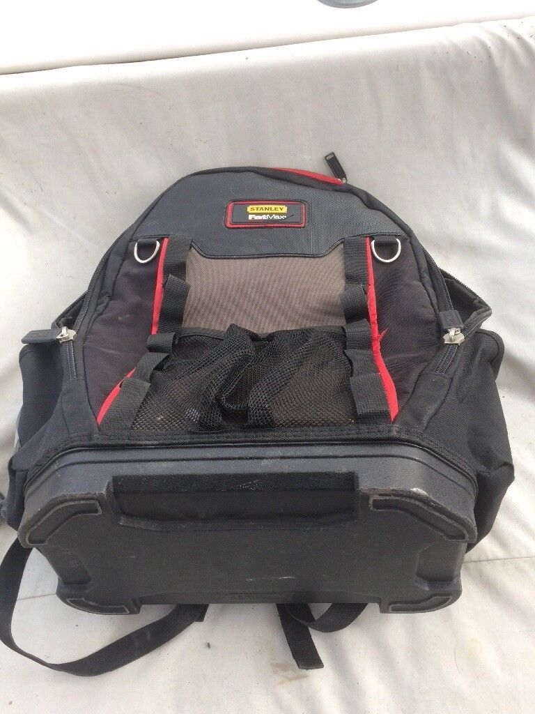 Stanley Fat Max tool back pack