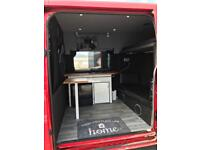 Ford transit day van camper van mobile home stealth camper