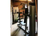 Maximuscle 2 station multigym