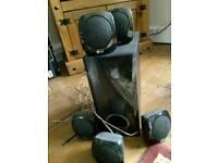LG speakers 6pcs