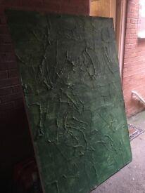 Large green games board, role play board, war hammer board