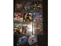 Play station 3 slim 500gb with games