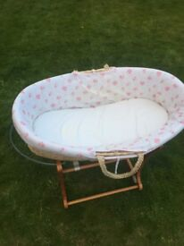 Baby Moses basket for sale