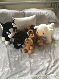 Selection of build a bear animals