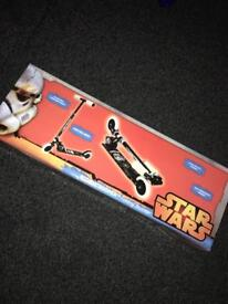 Star Wars scooter brand new