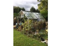 Garden Green House 12ft x 8ft x 7.5ft