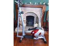 Hardly Used as New Magnetic Cross Trainer with Heart Rate Monitor bought from Tesco for £129.00