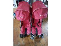 Silver cross twin stroller