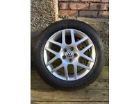 Vw 5x100 bbs Montreal 2 alloys and tyres x4