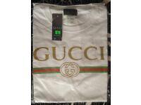 T-Shirt Gucci Size L White