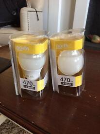 Unused North Light LED Bulbs