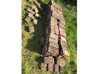 120 reclaimed bricks plus half bricks etc