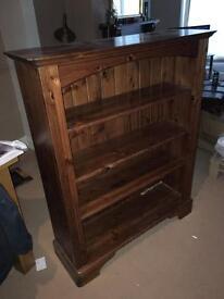 Wooden shelf cabinet
