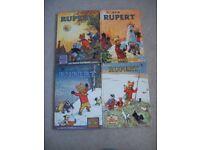 Rupert annuals and books