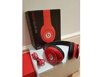 Beats by Dr Dre - Solo HD Headphones - Red - New ( NOT USED)