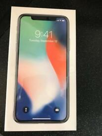 iphone x 64gb silver unlocked brand new from apple with receipt